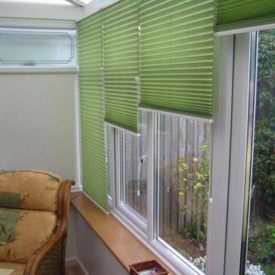 persiana plisada horizontal